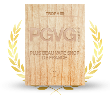 Trophée du plus beau vape shop de France